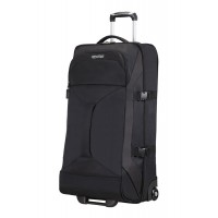 American Tourister 80cm Road Quest Duffle with Wheels Black