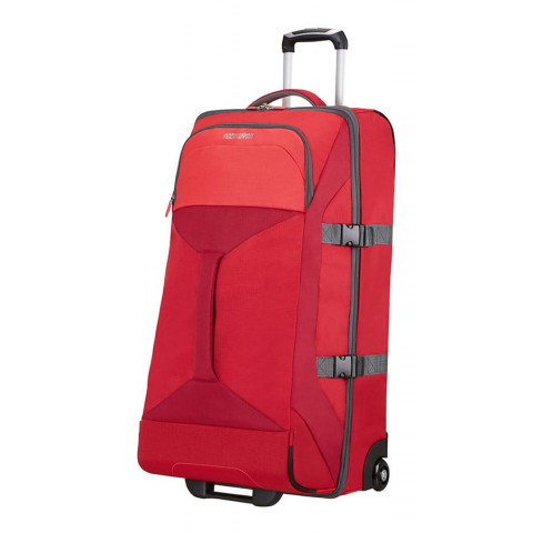 American Tourister 80cm Road Quest Duffle with Wheels Red