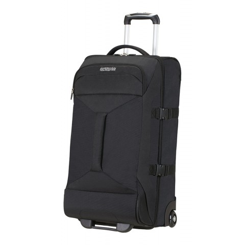 American Tourister 69cm Road Quest Duffle with Wheels Black