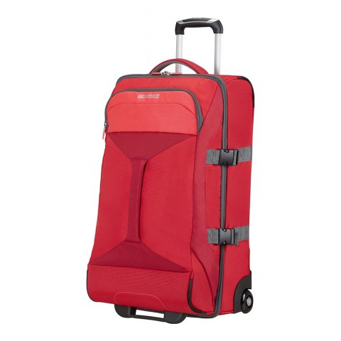 American Tourister 69cm Road Quest Duffle with Wheels Red