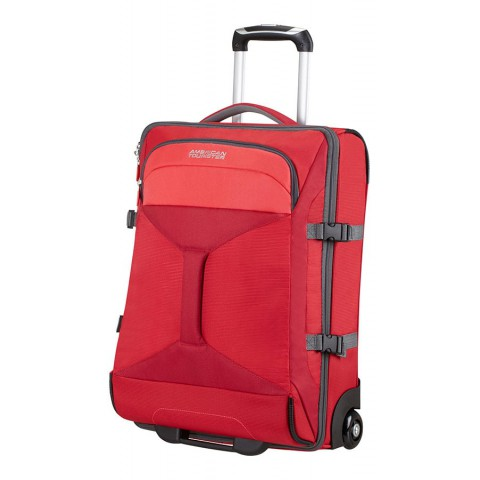 American Tourister 55cm Road Quest Duffle with Wheels Red