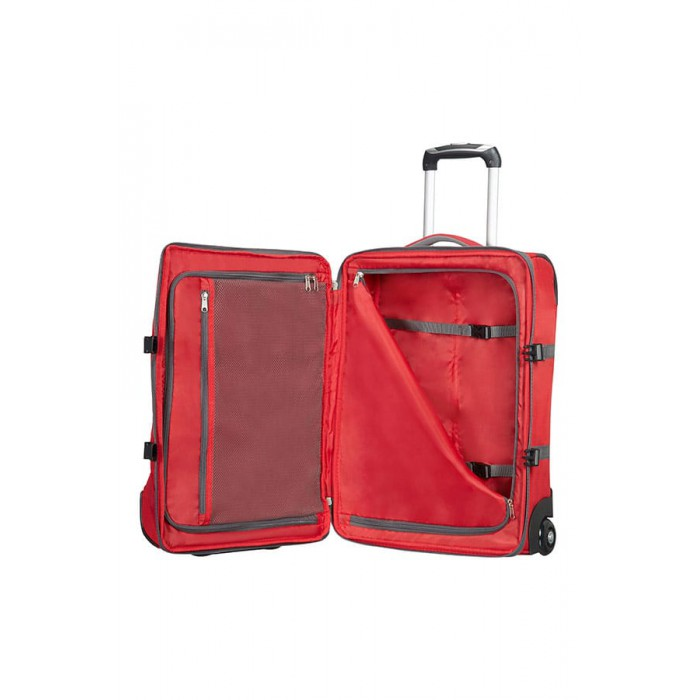 American Tourister 55cm Road Quest Duffle with Wheels Red def89beb0a83e