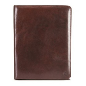 Brando Alpine Leather Zip-Around Folder
