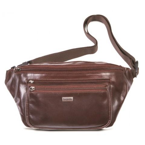 Brando Alpine Leather Waist-Bag