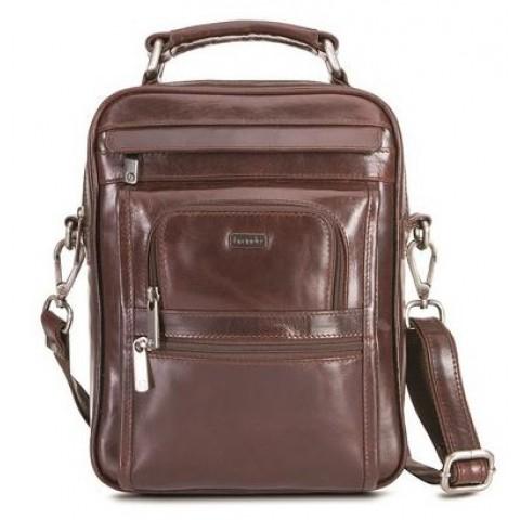 Brando Alpine Leather Gents Bag Large