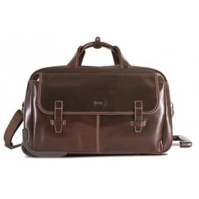 Brando Alpine Leather 55cm Trolley Duffle