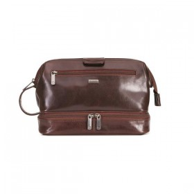 Brando Alpine Leather Toiletry Kit
