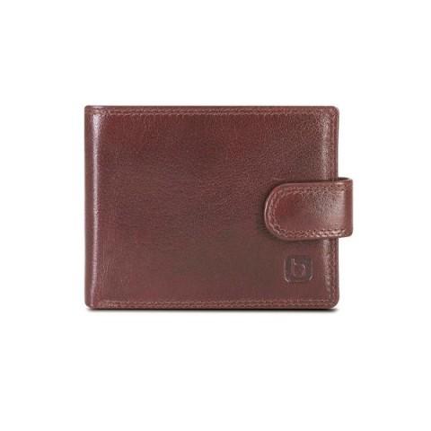 Brando Alpine Leather Slim Wallet with Tab