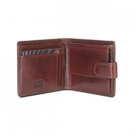 Brando Alpine Leather Slim Wallet with Tab