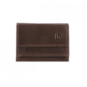 Brando Alpine Leather Mini Tri-Fold Wallet