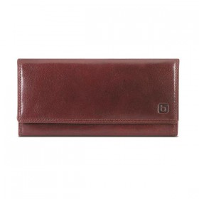 Brando Alpine Leather Slim Flapover Purse