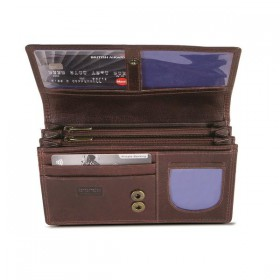 Brando Alpine Leather Multi Compartment Purse