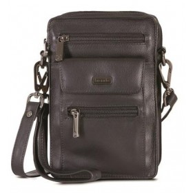 Brando Andes Leather Unisex Crossbody Organizer