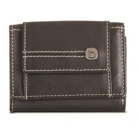 Brando Andes Leather Mini Wallet with Coin Pocket