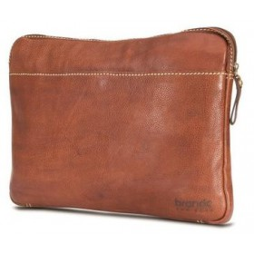 Brando Aqua Leather Laptop Sleeve 13""