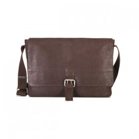 "Brando Cooper Leather 13"" Messenger"