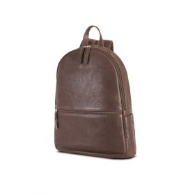 "Brando Cooper Leather 14"" Laptop Backpack"