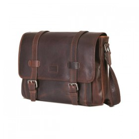 Brando Silviano Leather Messenger