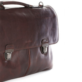 Cellini Woodbridge Leather Large Briefcase