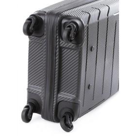 Cellini Microlite 68cm 4 Wheel Trolley Case (Black)