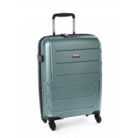 Cellini Microlite 54cm 4 Wheel Carry On (Green)