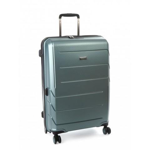 Cellini Microlite 68cm 4 Wheel Trolley Case (Green)