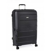 Cellini Microlite 76cm 4 Wheel Trolley Case (Black)