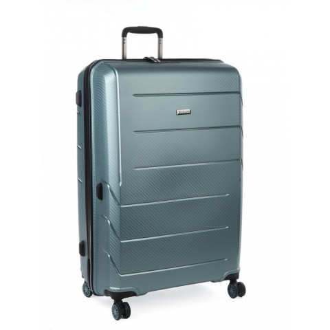 Cellini Microlite 76cm 4 Wheel Trolley Case (Green)