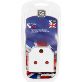Go Travel SA to UK Adaptor