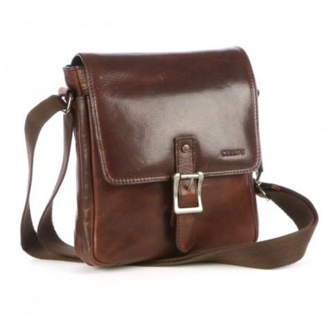 Cellini Woodbridge Flapover Crossbody Bag