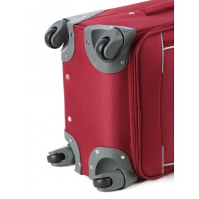 Voyager Holiday 54cm 4 Wheel Trolley Case