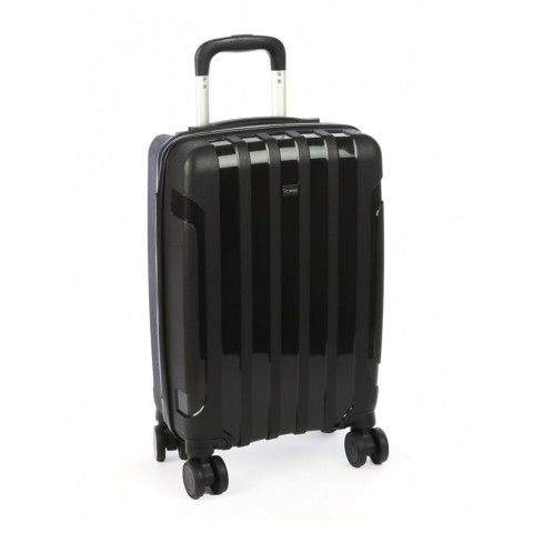 Voyager Diamond 54cm 4 Wheel Trolley Case
