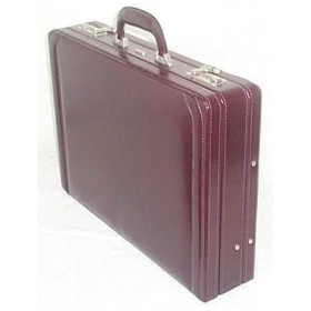 Gino De Vinci Leather Attache