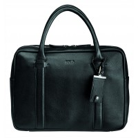 Polo Boston Leather Slimline Briefcase