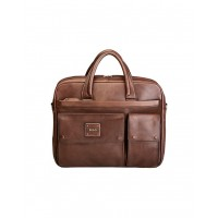 Polo Panama Leather Briefcase