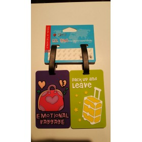 Travelmate Caption 2 Luggage Tags