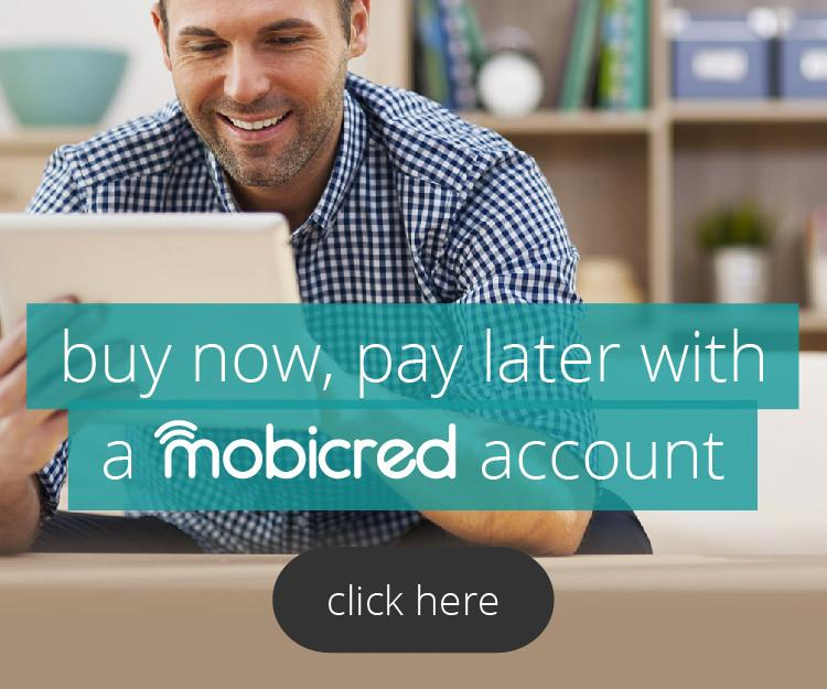 Get it on credit with Mobicred